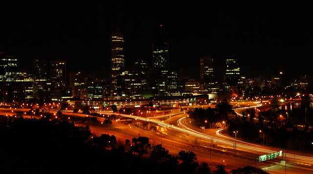 Downtown Perth